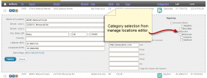 Tagalong, Assign Categories With Editor