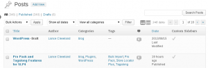 WordPress 3.5 Hard Pagination On Tables