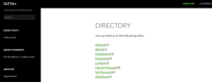 Directory City List Link With Count