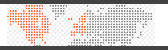 Dotted Map Banner