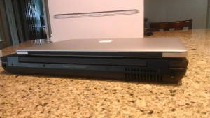 Lightweight MacBook Pro versus Heavyweight HP