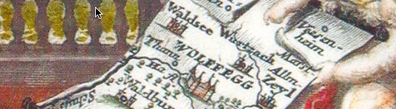 Map With Angels Banner