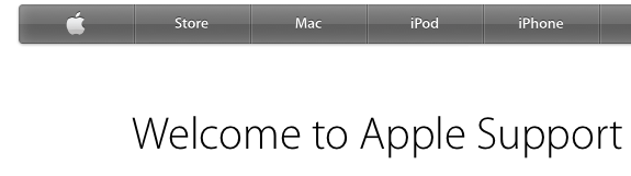 Welcome To Apple Support