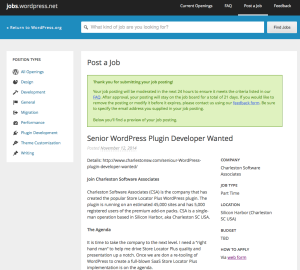 Jobs WordPress Net