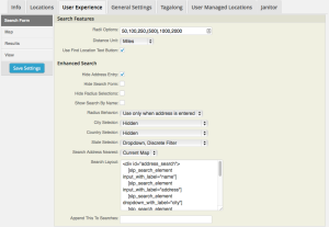 SLP 4.2 UX Search Form