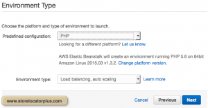 AWS ELB Environment Type