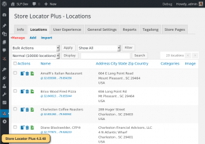 SLP 4.2.48 Locations Interface