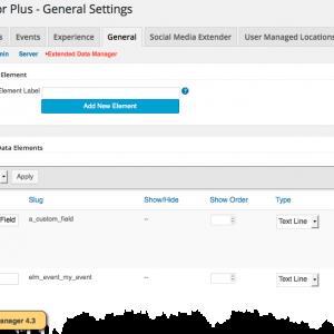 EDM 4.3 Add Custom Field
