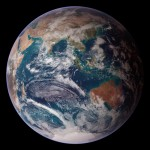 NASA Image blue marble east