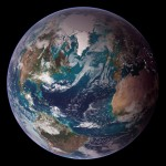 NASA Image Blue marble west